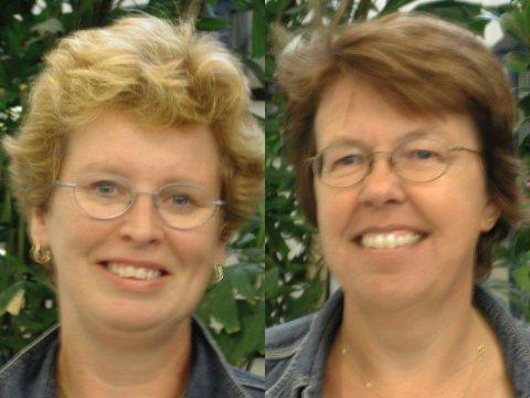Jet Pasman and Anneke Simons