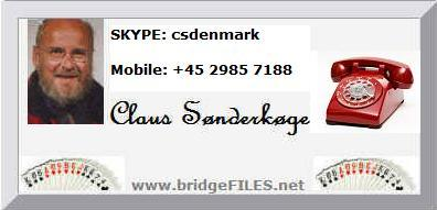 Communicate with Claus Sønderkøge - csdenmark